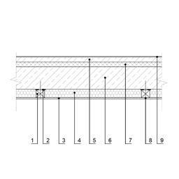 Eksplotuojamo pastato perdangos, esančios virš nešildomų ertmių, šiltinimas (2variantas), epsa.lt, PPA