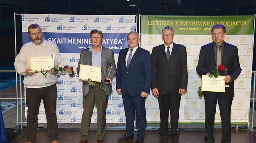 Apdovanoti pirmieji statinių šiltinimo lyderiai