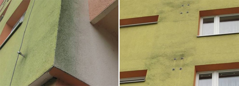 Biologiškai pažeisti fasadai - netinkamo įrengimo, bet ne šiltinamojo sluoksnio kaltė