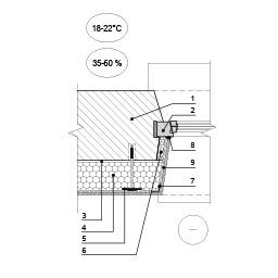 Sienos šiltinimas ties eksplotuojamo pastato lango angokraščiu, epsa.lt, PPA