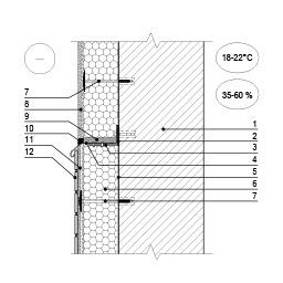 Šiltinimo sistemos deformacinė siūlė ties plonasluoksnio tinko ir apdailos plytelių jungtimi, epsa.lt, PPA