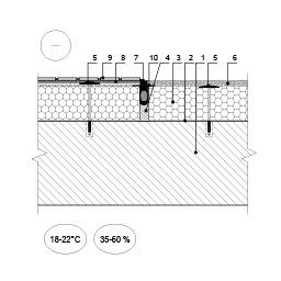 Šiltinimo sistemos deformacinė siūlė ties plonasluoksnio tinko ir apdailos plytelių jungtimi (planas), epsa.lt, PPA