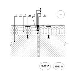 Šiltinimo sistemos deformacinė siūlė ties deformacine siūle (planas), epsa.lt, PPA