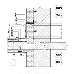 Sienos šiltinimas, panaudojant skardos lankstinį ties atviro balkono pardanga, epsa.lt, PPA