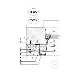 Sienos šiltinimas ties eksplotuojamo pastato lango angokrasčiu, epsa.lt, PPA