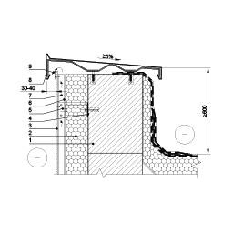 Parapeto šiltinimas vėdinama termoizoliacine sistema, epsa.lt, PPA
