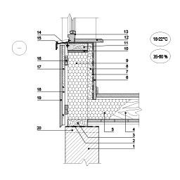 Karkasinio pastato išorinės sienos šiltinimas vedinama termoizoliacine šiltinimo sistema su lakštine apdaila, epsa.lt, PPA