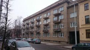 Tas pats pastatas prieš renovaciją