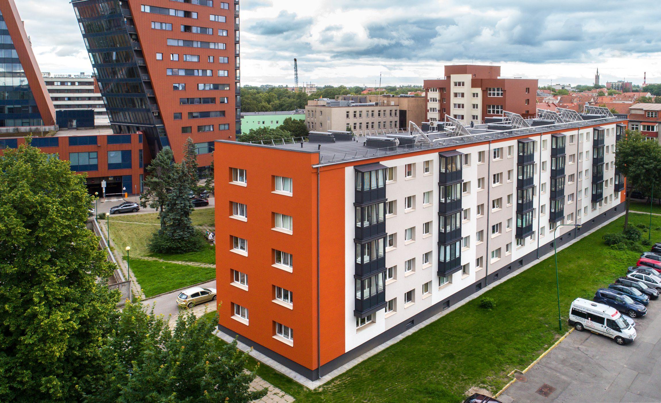 Atvertas naujas statybinio putplasčio EPS naudojimo Lietuvoje istorijos lapas