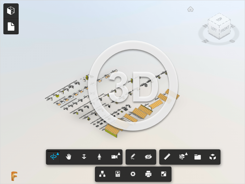 Mazgų 3D modelis
